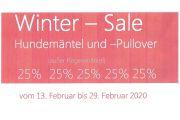 Winter-Sale Februar 2020
